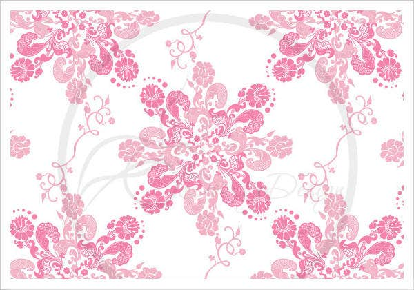 sales seemless baroque pattern vector