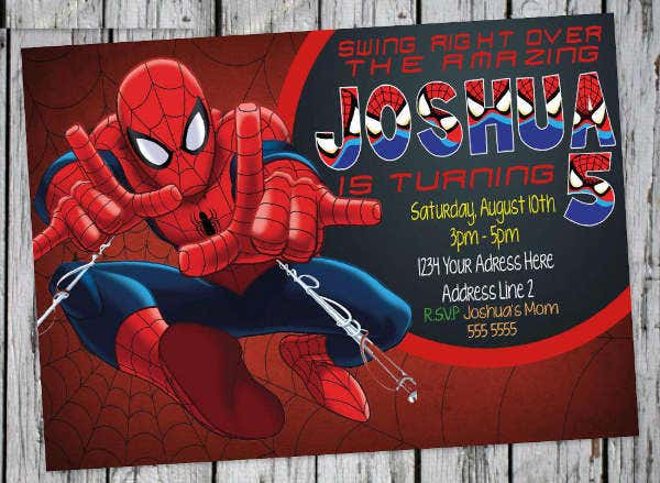 Free vector invitation spider man choice image invitation sample other ebooks library of free vector invitation spider man stopboris Gallery