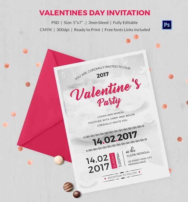 Proposal Valentine Invitation
