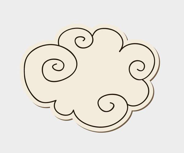 doodle-cloud-vector
