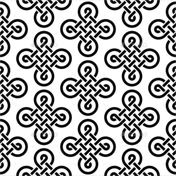 black-and-white-celtic-pattern