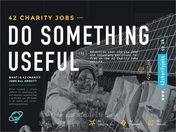 Job Charity Flyer