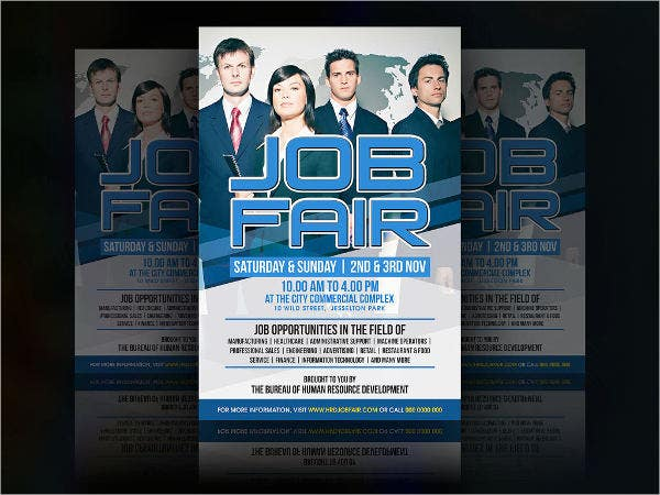 Job Event Flyer