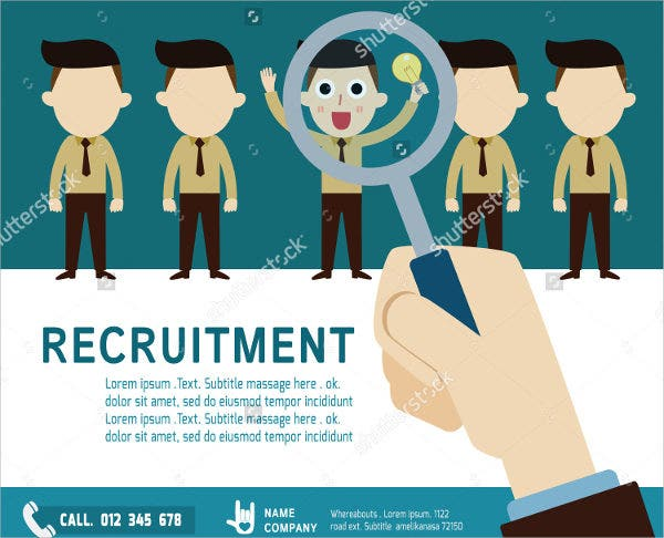 Job Recruitment Flyer