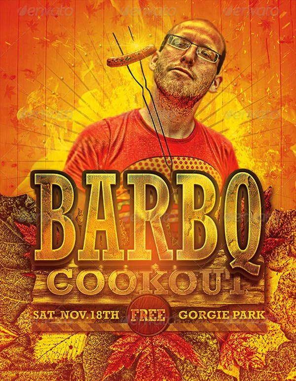 cookout-event-flyer