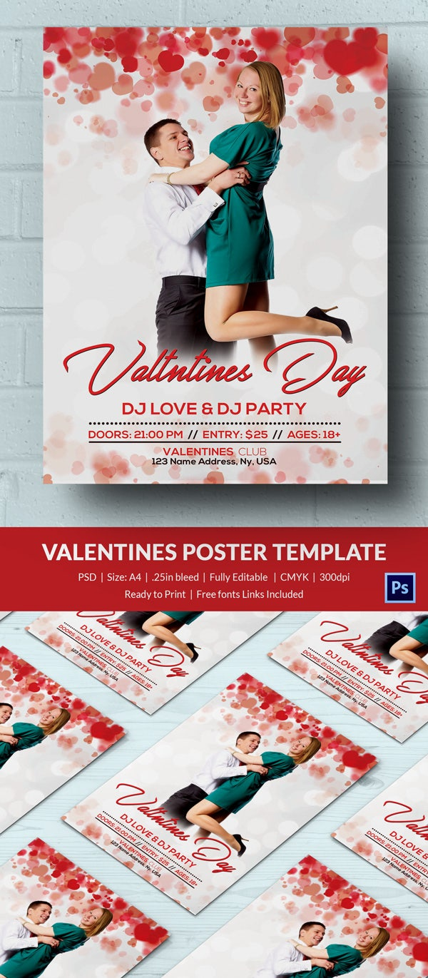 Valentine Poster Template