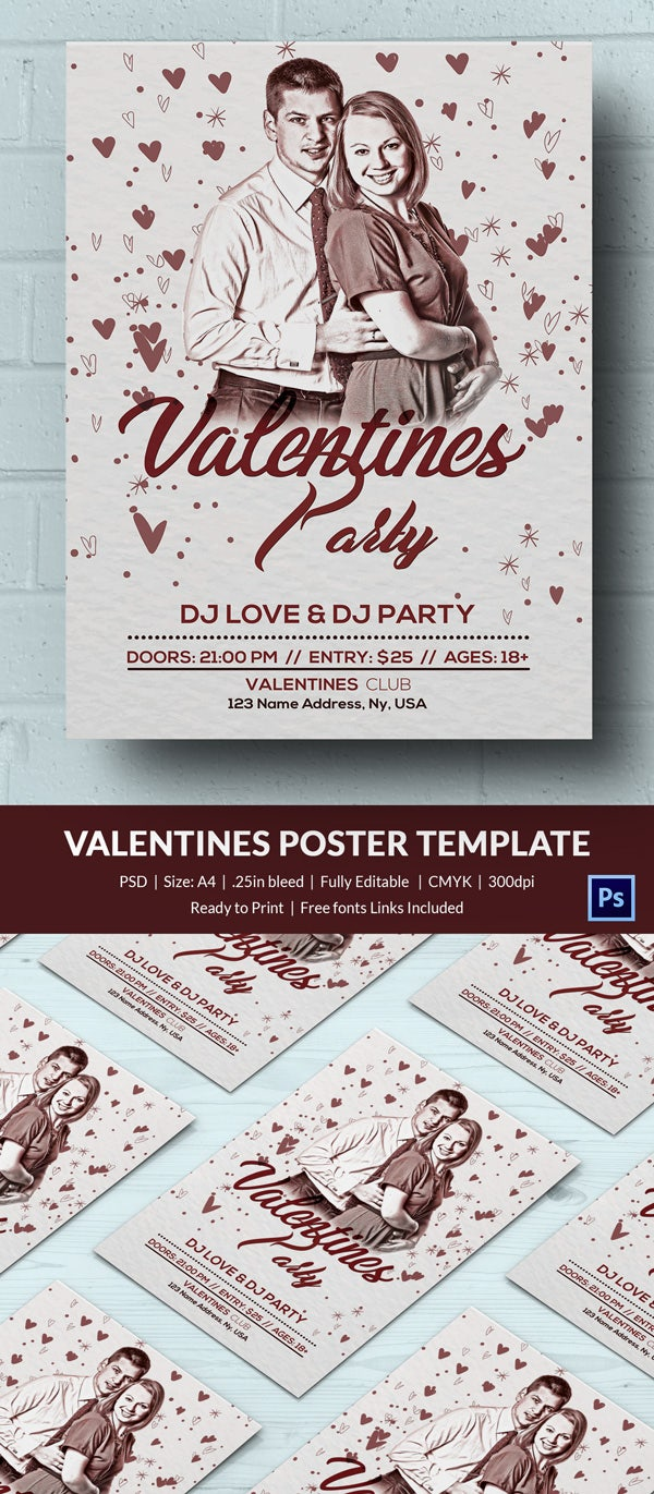 Free Valentines Poster