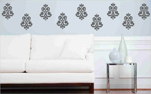 decorative baroque pattern