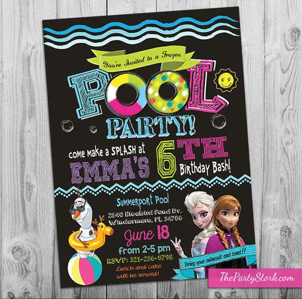 frozen-pool-party-invitation