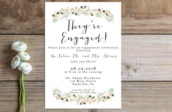 printable engagement party invitation2