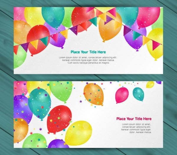 free party invitation card design