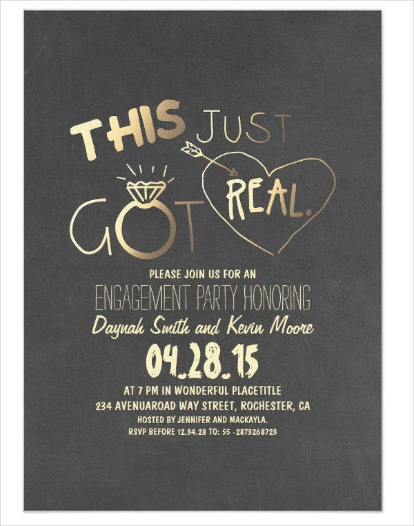 funny engagement party invitation4