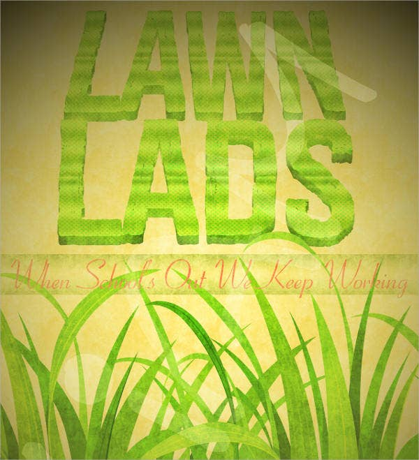 lawn business flyer