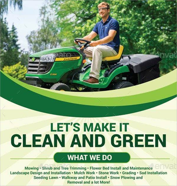 Lawn Mowing Service Flyer