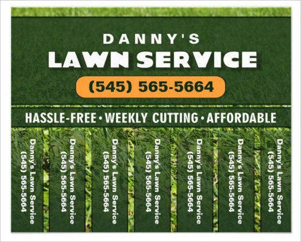lawn mowing business flyer2