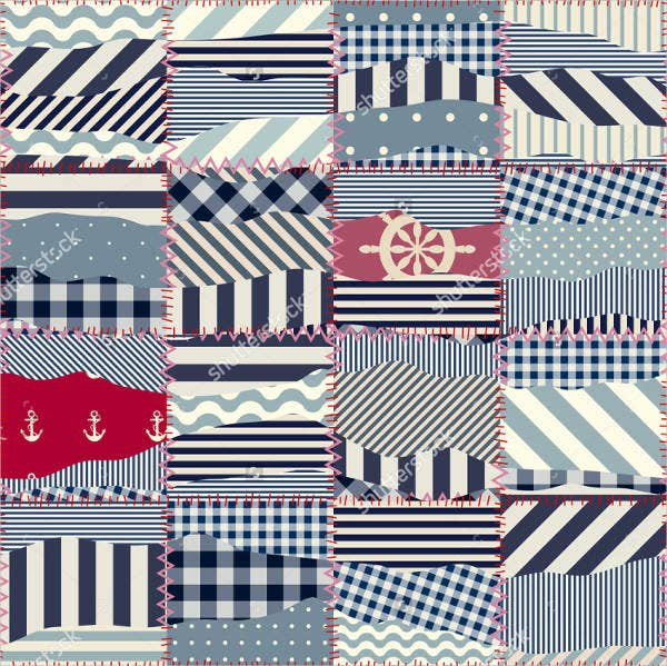 nautical-patchwork-pattern