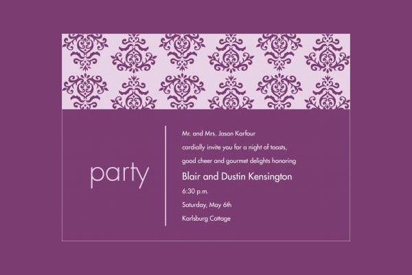 44 party invitations psd free premium templates dinner party email invitation stopboris Choice Image