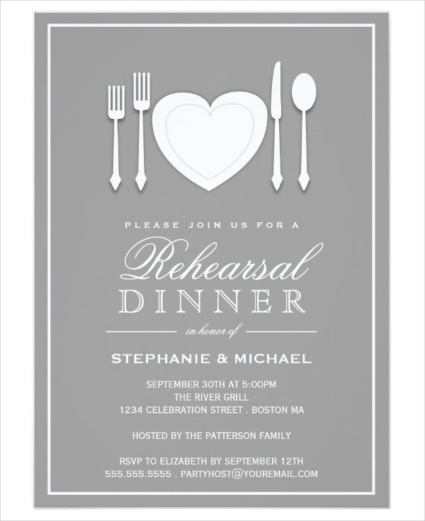 wedding dinnerparty invitation1