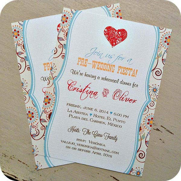 pre wedding party invitation1