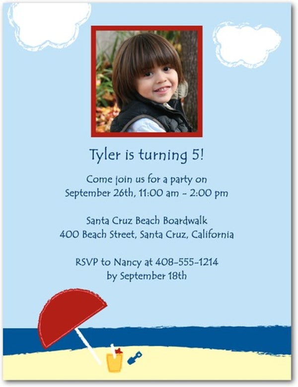 beach birthday party invitation1