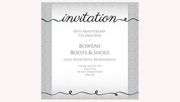 free corporate party invitation
