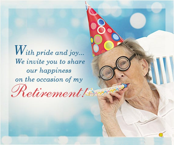 retirement party invitation card2