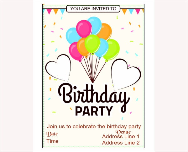 43 Party Invitation Designs