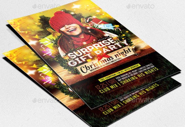 -Surprise Gift Party Invitation