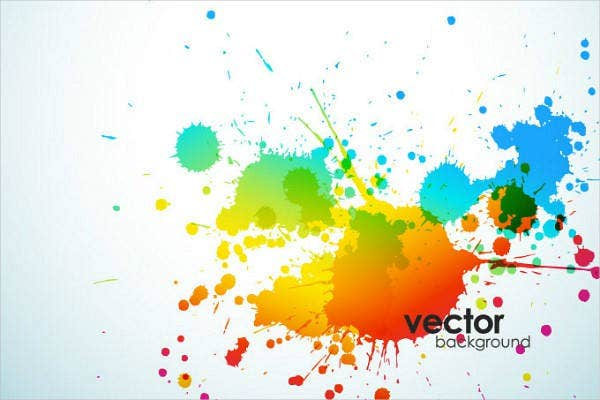 splatter-background-vector