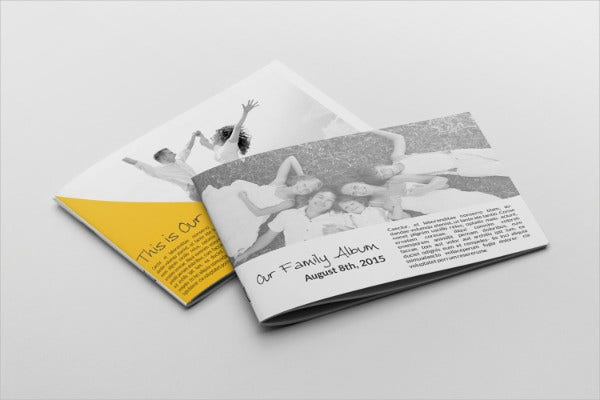 family photo album template