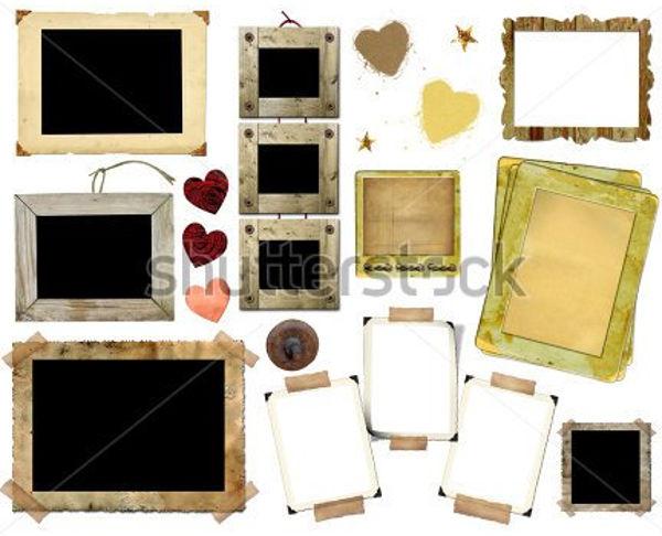 square photo album template