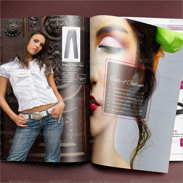 Fashion Product Catalog Template