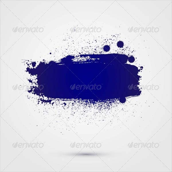 Abstract Splatter Vector