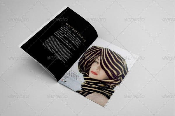 Fashion Brochure Catalog Template