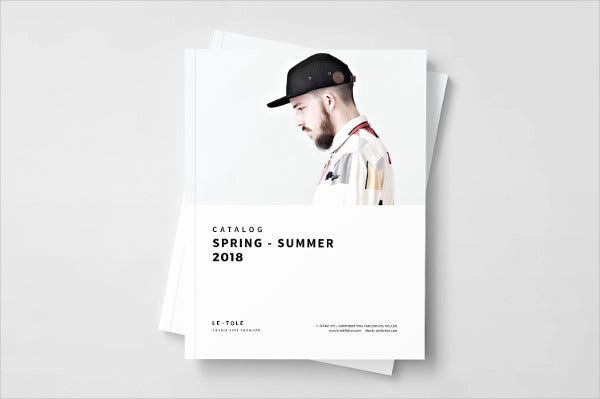 Fashion InDesign Catalog Template