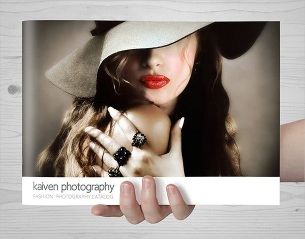 Fashion Photography Catalog Template