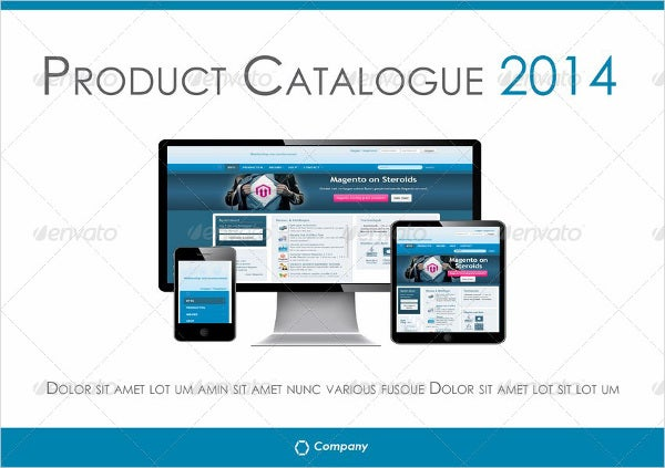 16+ Product Catalogue Template - Free Sample, Example
