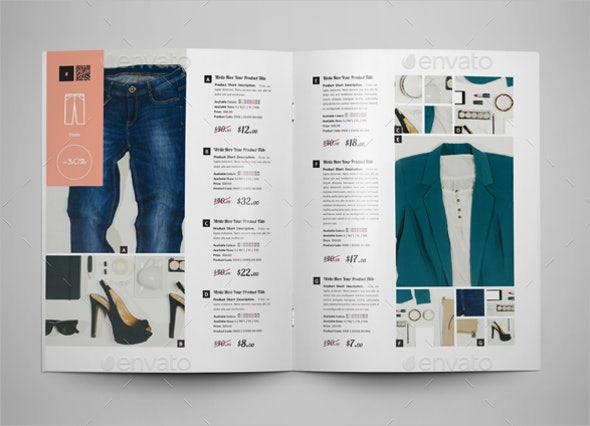 free catalog template - 16 product catalogue template free sample example
