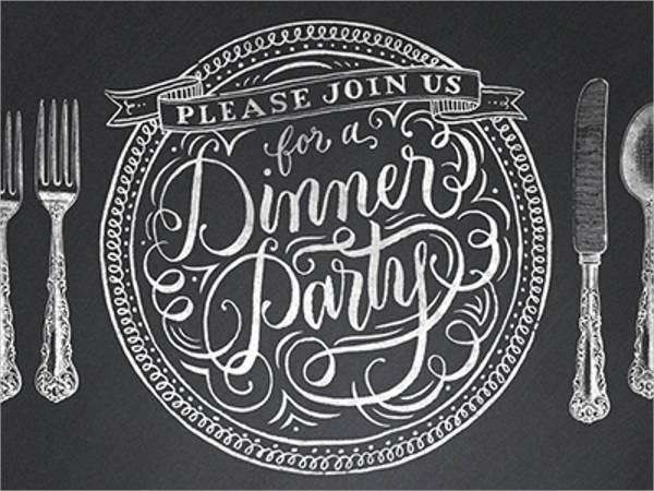 Free Dinner Party Invitation  Dinner Party Invitation Templates Free