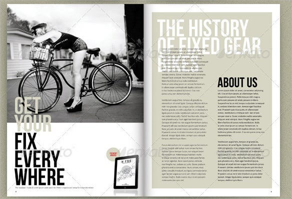 bicycle-product-catalogue-template