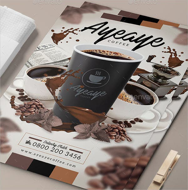 Coffee Menu Flyer