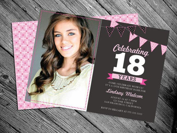 18th-birthday-invitation-card