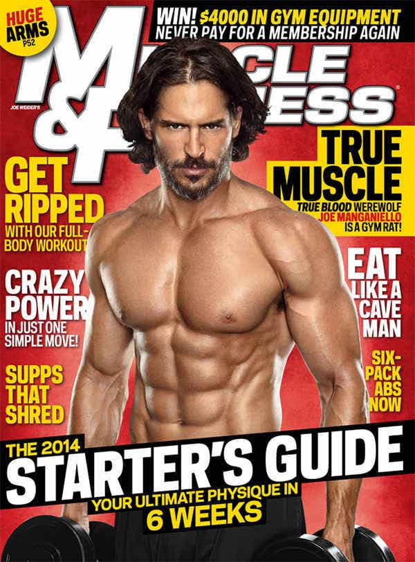 Men's Fitness Magazine Template