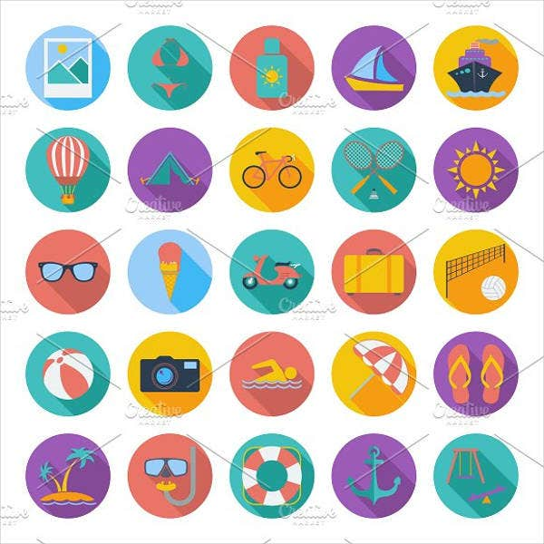 colorful-summer-icons