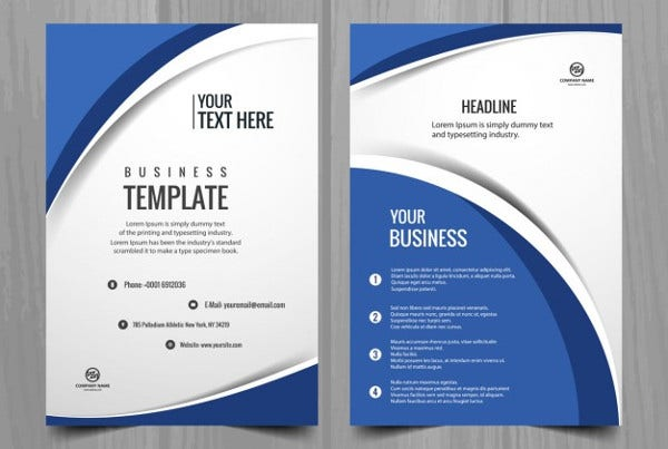 Professional Business Catalog Template