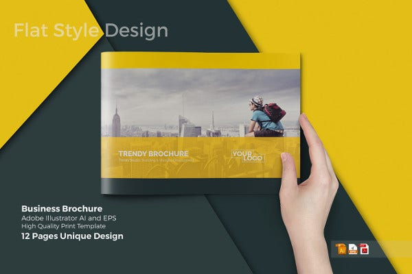 Business Product Catalog Template