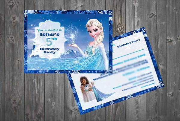 free frozen printable party invitation1