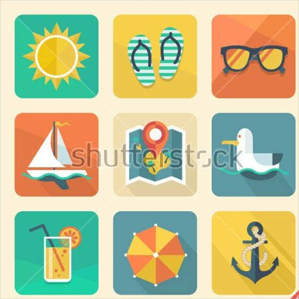 retro-summer-icons