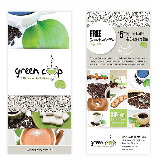 Cafe Coffee Flyer