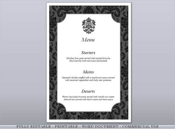 formal dinner invitation card template1